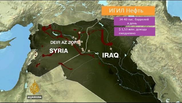 игил нефтедобыча карта